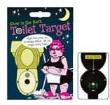 Toilet Target Game Glows in the Dark Mens Novelty Christmas Fathers Day Gift