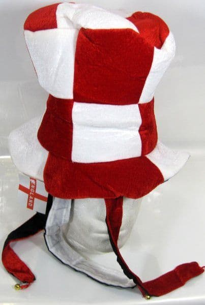 Top-Hat with Tails & Bells Red & White Christmas Xmas Festive Seasonal Nativity