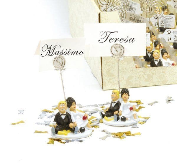 Wedding Humorous Place Card Holders