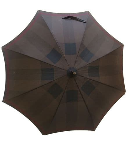 Burberry Brown Print Umbrella #63/5729
