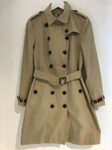 Burberry Trench Coat Size 10 #M1594/44 M
