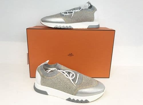 Hermes Addict Sneakers Size 37 #2337/19 M
