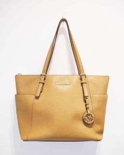 Michael Kors Light Tan Shopper Bag #2/3668/A