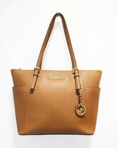 Michael Kors Women's Dark Tan Shopper Bag #1462/A