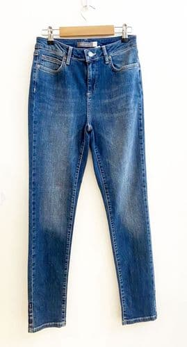 Mint velvet blue denim jeans size UK 10 3/2338A