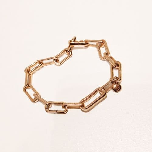 Monica Vinader 18ct Rose Gold Bracelet #32/2337/A