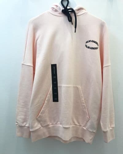 Palm Angels Circle Hoody Baby Pink Size S 7706/18 M