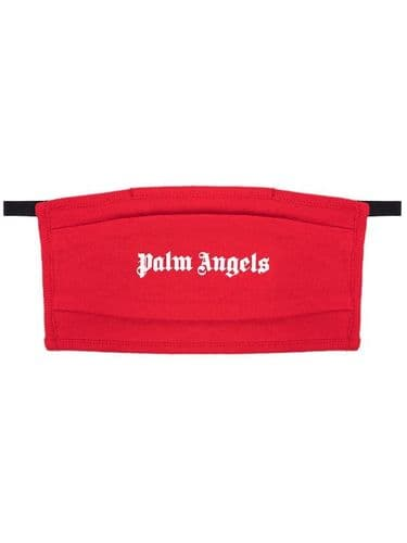 Palm Angels Logo Face Mask Red #195/A
