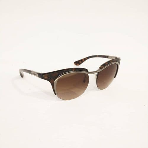 Prada Tortishell Cat Eye Sunglasses #57/2483/A