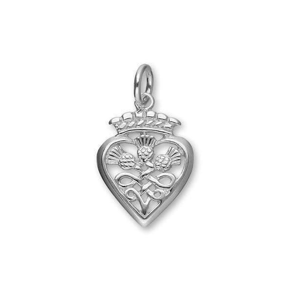 Luckenbooth Sterling Silver Charm