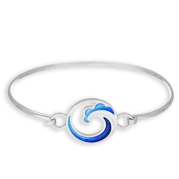 Ortak Coastal Bangle Sterling Silver