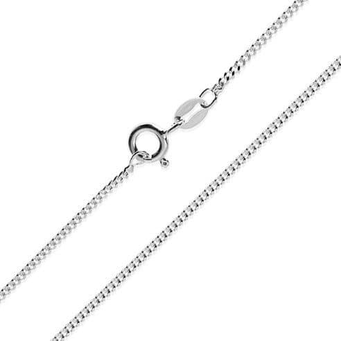 Sterling Silver Curb Chain 1.3mm Width