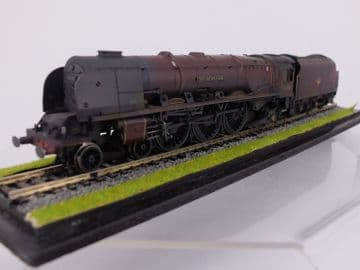 CWM208 BR/LMS 4-6-2 Coronation  Class City of Salford 46257 Weathered