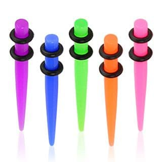 Acrylic UV Neon Taper with O-Rings