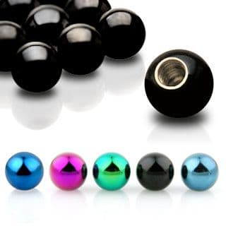 Anodised Titanium Replacement Spare Balls