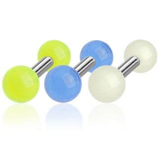 Cartilage Bar with Glow in the Dark Balls