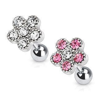 Gem Flower Cartilage Bar