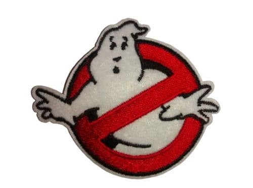 Ghostbusters Iron / Sew On Embroidered Patch