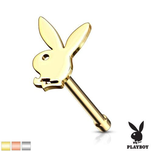Playboy Bunny Top Nose Stud