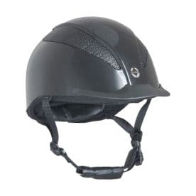 Air-Tech Deluxe Riding Hat Dial Fit- Metallic Navy