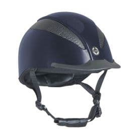 Air-Tech Deluxe Riding Hat Dial Fit- Navy
