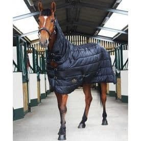 Gallop Combo/Full Neck Dual Stable/Under Rug Quilt 150g. For Horse or Pony. All Sizes!
