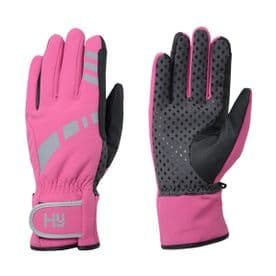 Hy5 Reflective Waterproof Multipurpose Gloves- Pink