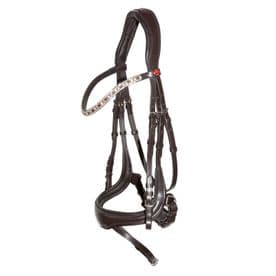Kieffer Viola Snaffle Bridle - Brown