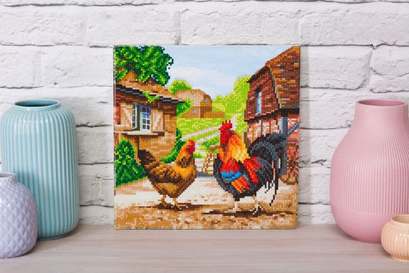 Crystal Art D.I.Y picture kit FARM