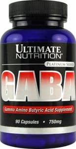 Ultimate Nutrition Gaba 90 x 750mg capsules.