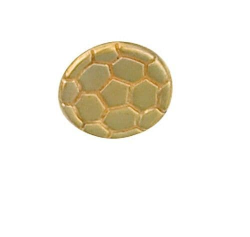 Football Tie Tack Tie Pin Yellow Gold Made To Order in Jewellery Quarter B'ham