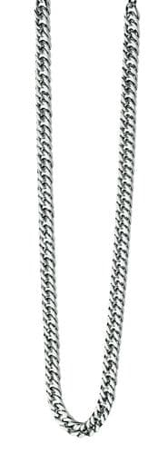 """Mens Chain Fred Bennett Stainless Steel Curb Necklace 22"""""""
