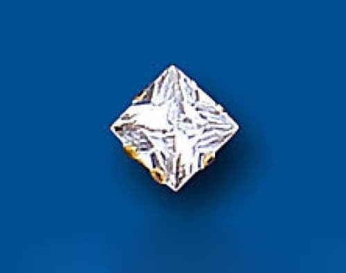 Mens Earring 1 Carat Solitaire Earring 9ct Yellow Gold Stud Earring