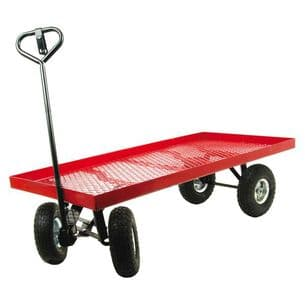 Gardeners 4 Wheel Trolley/Work Trolley/Cart/Trailer