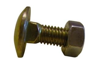 M8 X 20mm Cup Square Bolt & Nut