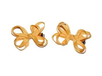 Bow Clips - Gold