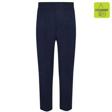 Boys Full Elastic Pull-Up Trousers - BT3046 - NAVY