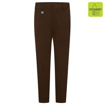 Boys Slim Fit Junior Trousers - BT3051 - BROWN