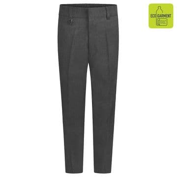 Boys Slim Fit Junior Trousers -  BT3051 - GREY