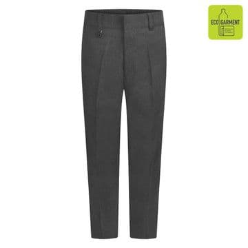 Boys Standard Fit Junior Trousers - BT3052 - GREY