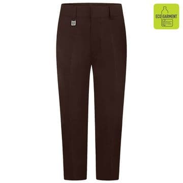 Boys Sturdy Fit Junior Trousers - BT3054 - BROWN