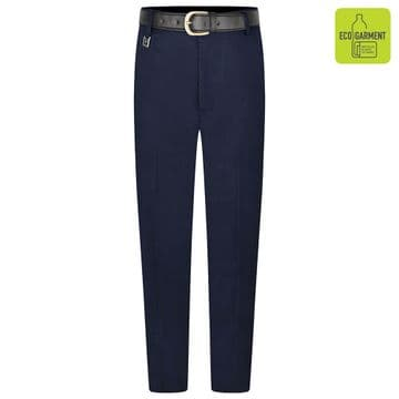 Boys Tailored Fit Long Length Leg Trousers - BT3066 - NAVY