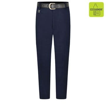 Boys Tailored Fit Regular Length Leg Trousers -BT3064 - NAVY