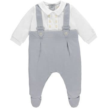 Emile Et Rose  1771GR .    jersey AIO with feet .  Available Sizes newborn/1/3 months .  Spring/2018