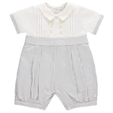 Emile et Rose 7261GR .    Romper Available Sizes Newborn/1/3 Months  Spring/Summer 2018
