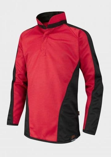 FitzWimarc Rugby Shirt - Red/Black - Boys - WITHOUT PERSONALISATION