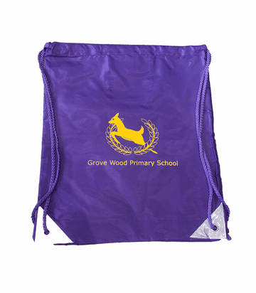 Grove Wood Infant P.E. Bag - Purple