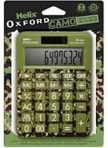 Helix Oxford Camo Calculator - Green