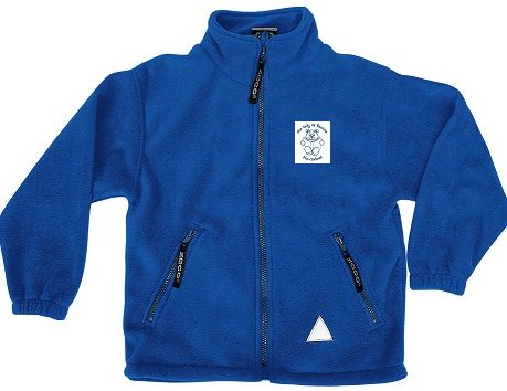 OLOR Pre-School Polar Fleece Jacket - Royal