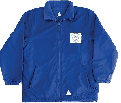 OLOR Pre-School Reversible Fleece Jacket - Royal